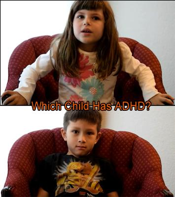 image created from YT ADHD Child vs. Non-ADHD Child Interview - My Little Villagers