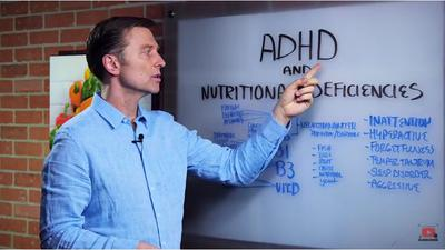 Image taken from Eric Berg's youtube video - Nutritional Deficiencies that Cause ADHD